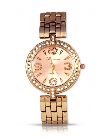 Ramon Rose Gold Watch